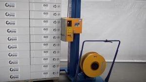 Semi-automatische omsnoeringsmachine | Reisopack